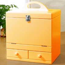 メイクボックス ナチュラルオレンジ