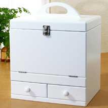 メイクボックス ピュアホワイト